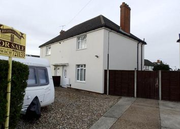 Thumbnail 3 bedroom semi-detached house for sale in Frampton Road, Ipswich