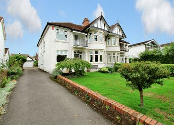 Thumbnail 4 bedroom semi-detached house for sale in Lake Road East, Roath Park, Cardiff