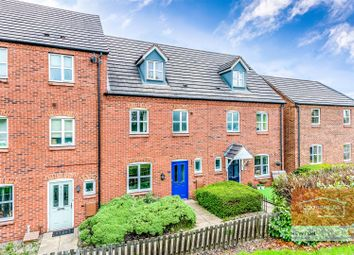 Thumbnail 4 bed terraced house for sale in Bridgeside Close, Brownhills, Walsall