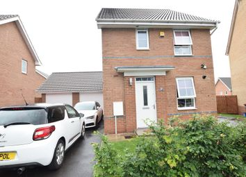 Thumbnail 3 bedroom detached house for sale in Redshank Drive, Scunthorpe