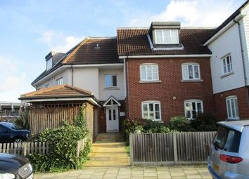 Thumbnail 2 bed flat for sale in Gillian Crescent, Gidea Park, Romford