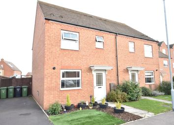 Thumbnail 3 bed semi-detached house for sale in Cornflower Drive, Evesham
