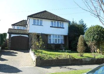 Thumbnail 4 bed detached house to rent in Shaw Close, South Croydon