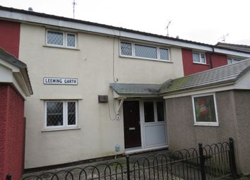 Thumbnail 3 bedroom terraced house for sale in Leeming Garth, Bransholme, Hull