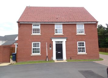 Thumbnail 4 bed detached house for sale in Dovestone Close, Washington