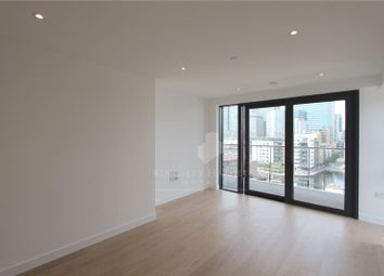Thumbnail 1 bed flat to rent in Horizons Tower, Yabsley Street, London