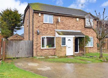 Thumbnail 3 bed semi-detached house for sale in Satis Avenue, Sittingbourne, Kent