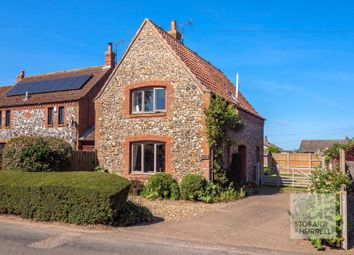 Thumbnail 3 bed detached house for sale in Dudwick Cottage, Church Road, Felmingham, North Walsham, Norfolk