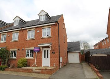 Thumbnail 3 bed end terrace house for sale in Girton Way, Bletchley
