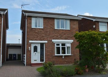 Thumbnail 3 bed detached house for sale in Fulmerton Crescent, Redcar