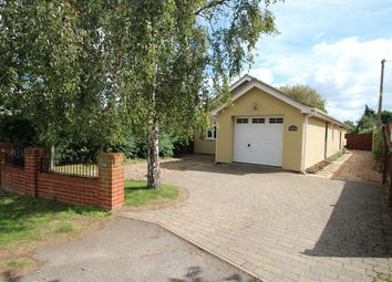Thumbnail 3 bed detached bungalow for sale in Bucklesham Road, Kirton, Ipswich