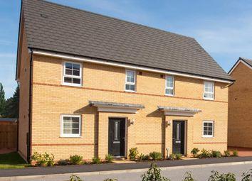 "Thumbnail 3 bedroom terraced house for sale in ""Hampton"" at The Ridge, London Road, Hampton Vale, Peterborough"