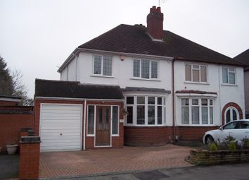 Thumbnail 1 bedroom semi-detached house to rent in Shalford Road, Solihull