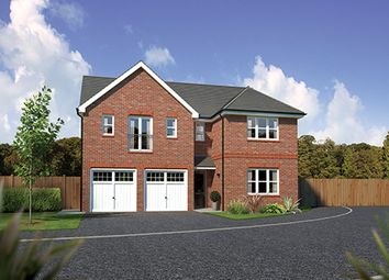 "Thumbnail 5 bedroom detached house for sale in ""Kingsmoor"" At Bolton Road, Adlington, Chorley PR6, Adlington,"