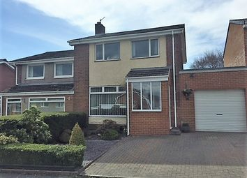 Thumbnail 3 bed semi-detached house for sale in Alderside Crescent, Lanchester