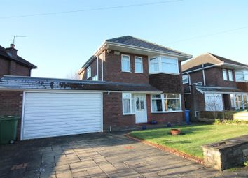 Thumbnail 3 bedroom detached house for sale in Delbooth Avenue, Urmston, Manchester