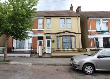 Thumbnail 4 bed semi-detached house for sale in Malvern Road, Gillingham, Kent.