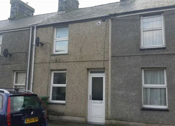 Thumbnail 2 bed terraced house to rent in Sawmill Terrace, Porthmadog, Gwynedd