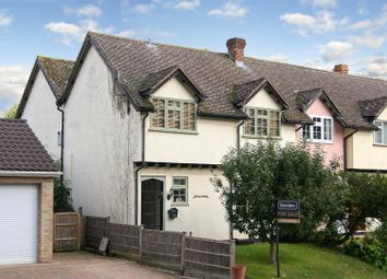 Thumbnail 3 bed cottage for sale in The Street, Pakenham, Bury St. Edmunds