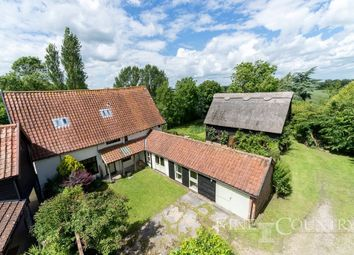 Thumbnail 4 bed barn conversion for sale in The Street, Thorndon, Eye