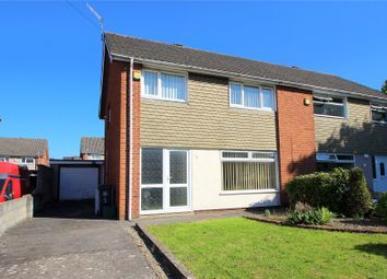 Thumbnail 3 bed semi-detached house for sale in Gander Close, Hartcliffe, Bristol