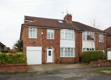 Thumbnail 6 bed semi-detached house for sale in Malvern Avenue, York