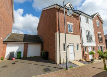 Thumbnail 4 bed town house for sale in Bahram Road, Costessey, Norwich