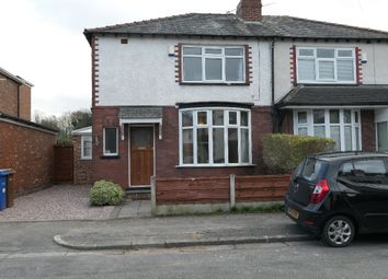 Thumbnail 3 bed semi-detached house to rent in Hawthorn Road, Gatley, Cheadle