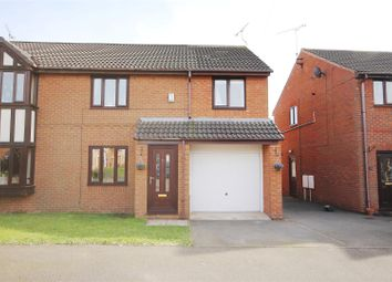 Thumbnail 3 bed semi-detached house for sale in The Fairways, Danesmoor, Chesterfield
