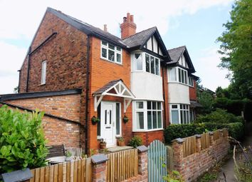 Thumbnail 4 bed semi-detached house for sale in Bellfield Avenue, Cheadle Hulme, Cheadle