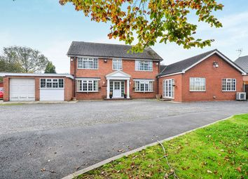 Thumbnail 4 bed detached house for sale in Dovecote Road, Newthorpe, Nottingham