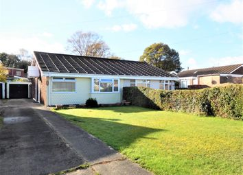 Thumbnail 2 bed semi-detached bungalow for sale in Hazel Grove, Parc Avenue, Caerphilly