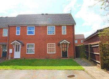 Thumbnail 2 bed end terrace house for sale in Breda Court, Spalding, Lincolnshire