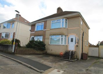 Thumbnail 3 bedroom semi-detached house for sale in Jean Crescent, Plymouth