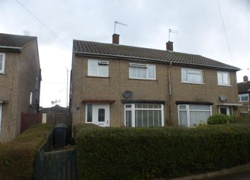 Thumbnail 3 bed semi-detached house for sale in Kimberley Close, Luton