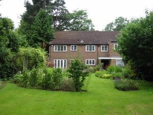 Thumbnail 5 bed detached house to rent in Lincoln Drive, Pyrford