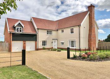 Thumbnail 5 bed detached house for sale in Felgate Way, Grundisburgh, Woodbridge