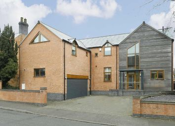 Thumbnail 4 bedroom detached house for sale in Lutterworth Road, Burbage, Hinckley
