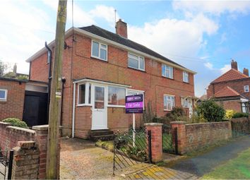 Thumbnail 3 bed semi-detached house for sale in Ratcliffe Road, Southampton