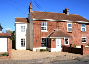 Thumbnail 3 bed semi-detached house for sale in Landermere Road, Thorpe-Le-Soken, Clacton-On-Sea