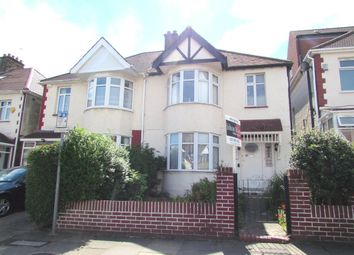 Thumbnail 3 bedroom semi-detached house to rent in Braemar Avenue, Wembley, Middlesex