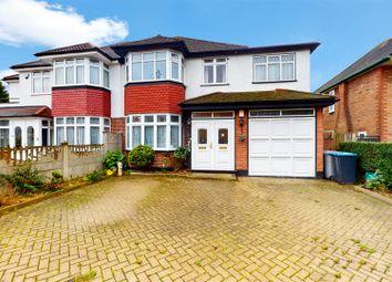 Thumbnail 5 bed semi-detached house for sale in Donnington Road, Kenton, Harrow