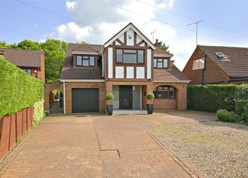 Thumbnail 4 bed detached house for sale in Mayflower Road, Park Street, St.Albans, Hertfordshire