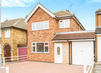 Thumbnail 3 bedroom detached house for sale in Thorpe Drive, Wigston, Leicester