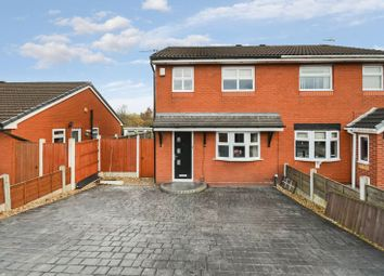 Thumbnail 3 bed semi-detached house for sale in 35 Warlow Drive, Leigh