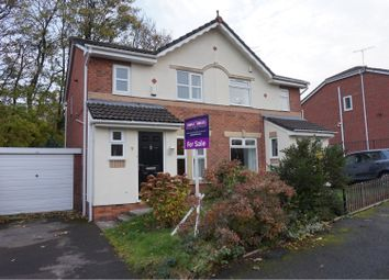 Thumbnail 3 bed semi-detached house for sale in Oxbow Way, Whitefield, Manchester
