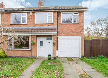 Thumbnail 4 bed semi-detached house for sale in Wale Road, Whetstone, Leicester