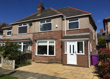 Thumbnail 3 bed semi-detached house to rent in Heatherdale Road, Liverpool, Merseyside