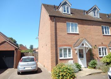 Thumbnail 3 bed end terrace house for sale in Kestrel Drive, Bourne