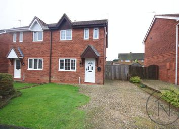 Thumbnail 3 bed semi-detached house to rent in Newburn Court, Newton Aycliffe